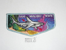 Order of the Arrow Lodge #566 Malibu s2 Flap Patch