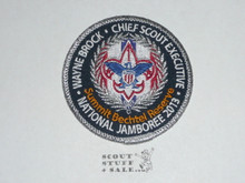 2013 National Jamboree Patch, Wayne Brock Chief Scout Executive