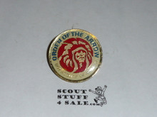 Order of the Arrow enameled MGM Indian Logo Pin
