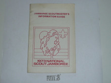 1973 National Jamboree Scoutmaster's Information Guide