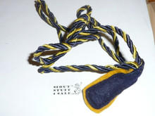 Den Chief Cord, yellow and blue