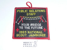1993 National Jamboree Public Relations Staff Patch