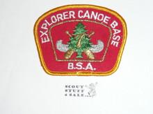 Region 7 Explorer Canoe Base Patch