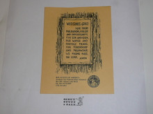 """Charles L. Sommers Wilderness Canoe Base Wilderness Grace Card, 5.5"""" x 4.25"""""""