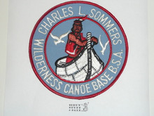 Charles L. Sommers Wilderness Canoe Base Jacket Patch, BSA Bottom