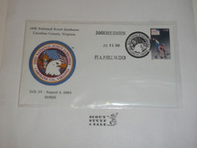 2005 National Jamboree FDC SOSSI Envelope with Jamboree Cancellation