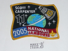 2005 National Jamboree Subcamp 11 Patch, Scott Carpenter