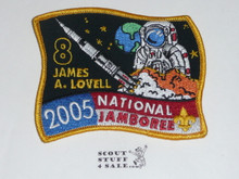 2005 National Jamboree Subcamp 8 Patch, James Lovell
