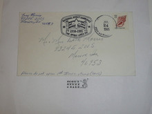 1985 National Jamboree FDC Envelope with Jamboree Cancellation