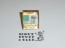 1993 National Jamboree Subcamp 2, Central Region Pin