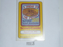 1993 National Jamboree Scout Guide