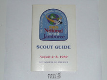 1989 National Jamboree Scout Guide