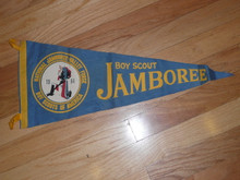 1964 National Jamboree Felt Pennant, some wear