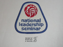 Order of the Arrow National Leadership Seminar Patch