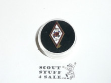 Red Cross Junior Lifesaving Service enemaled Scout Pin, 1920's, some enamel missing