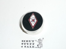 Red Cross Junior Lifesaving Service enemaled Scout Pin, 1930's