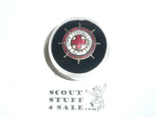 Red Cross Lifesaving Corps A.R.C. enemaled Scout Pin, 1920's