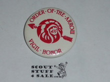 Order of the Arrow Vigil Member Button