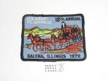 1972 U.S. Grant Pilgrimage Patch