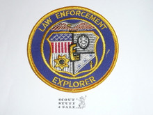 Law Enforcement Explorer Scout Patch