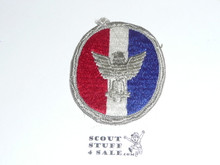 Eagle Scout Patch, Type 4B, 1972-1975, used