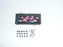 Eagle Scout Award Knot on Explorer Green, 1966-1980