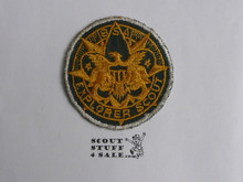 Exploring Adult Medallion Patch, 1950's, lite Use