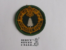 Explorer Scout Ranger Program Rank Patch, Frontiersman, 1950's