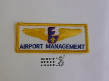 Air Exploring Airport Management Patch, Error issue as it should have been on blue twill