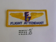 Air Exploring Flight Attendant Patch, Error issue as it should have been on blue twill