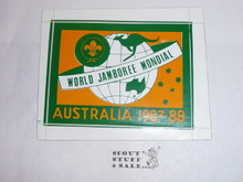 1987-88 World Jamboree Sticker
