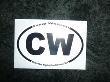 Camp Whitsett CW Sticker - Scout