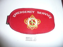 BSA Emergency Service Armband (white letters) - Elastic Band