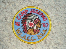 1987 Camp Josepho Patch - 46th Anniversary