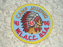 1986 Camp Josepho Patch - 45th Anniversary #4
