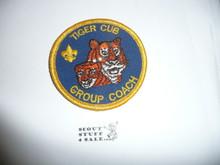 Tiger Cub Group Coach Patch (C-TCC1), 1990-1995