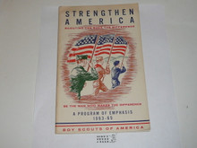 Strengthen America Scouting Can Make A Difference, A Program Emphasis 1963-65, 32 page pamphlet
