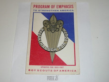 To Strengthen America Breakthrough for Youth, A Program Emphasis 1965-67, 34 page pamphlet
