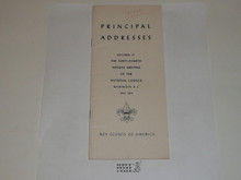 1954 Principal Addresses delivered at the 44th Annual Meeting of the National Council