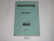 Pioneering, Published for Wood Badge Gilcraft, 1955 printing