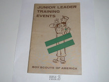 Junior Leader Training Events, 9-58 printing