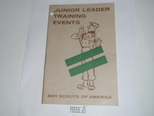 Junior Leader Training Events, 11-59 printing