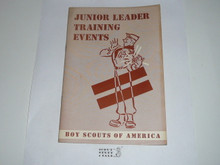 Junior Leader Training Events, 11-56 printing