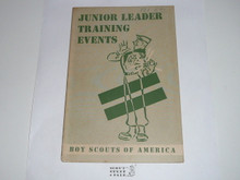 Junior Leader Training Events, 1-50 printing