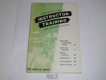 Scoutcraft Skills Instructor Training for Junior Leaders, 4-67 printing