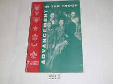 Advancement in the Troop, 1-65 Printing