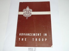 Advancement in the Troop, 10-51 Printing