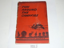 Fun Around the Campfire, 4-52 Printing, cover separated