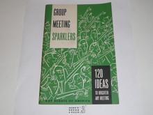 Group Meeting Sparklers, 7-67 Printing