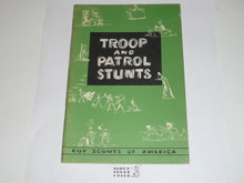 Troop and Patrol Stunts, 1-60 Printing